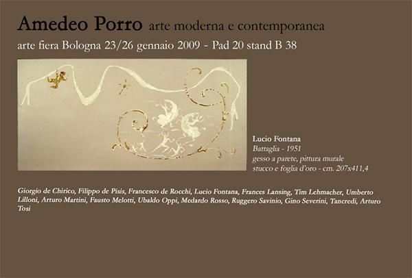 Fiera di Bologna; Amedeo Porro