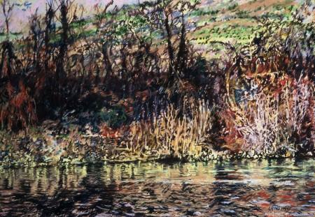 Arno Fall, 45x35cm., pastel, 1990