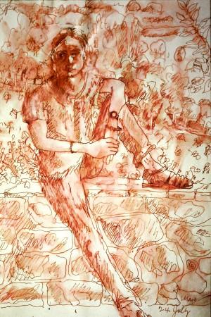 Tommaso, 13x20 cm, ink, 2005